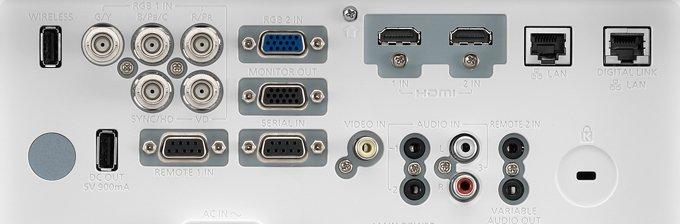 PT-EX620 ports